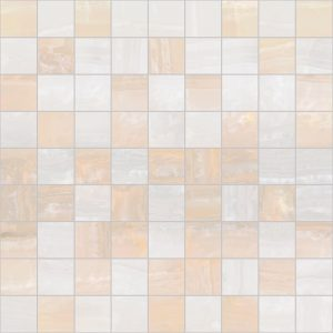 Плитка мозаика Diadema Мозаика 30х30 бежевый+белый