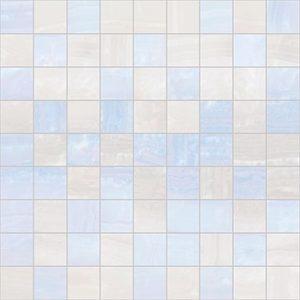 Плитка мозаика Diadema Мозаика 30х30 голубой+белый