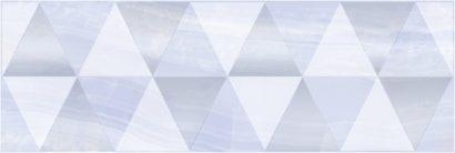 Керамическая плитка Diadema Perla Декор голубой 17-03-61-1186-0 20х60