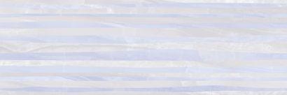 Керамическая плитка Diadema Плитка настенная голубой рельеф 17-10-61-1186-0 20х60