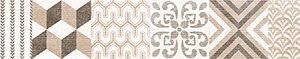 Керамическая плитка Дюна Бордюр настенный фантазия 1505-0105 5х40