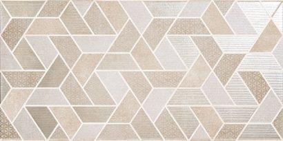 Керамическая плитка Дюна Декор настенный геометрия 1641-0105 20х40