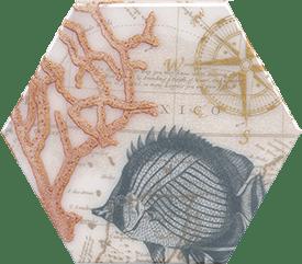 Керамическая плитка Эль Салер Декор HGD A337 24020 20х23