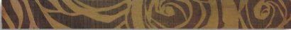 Керамическая плитка Elegante Marrone Roze Бордюр 6