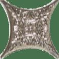 Керамическая плитка Estrella Angara Gris Antr 4JM1A Вставка 6