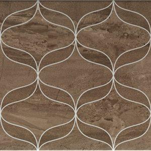 Керамогранит Ethereal Декор коричневый K927943 30х60