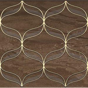 Керамогранит Ethereal Gold Декор коричневый K082266 30х60