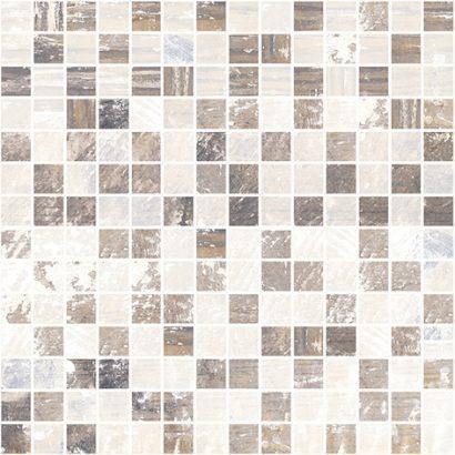 Керамическая плитка Extra Мозаика коричневый+бежевый 30х30