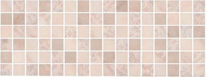 Керамическая плитка Флораль Декор мозаичный 15x40  MM15121