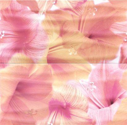 Керамическая плитка Flower Power (из 2 пл.) Панно 59