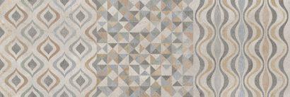 Керамическая плитка Forte multi Декор 01 25х75