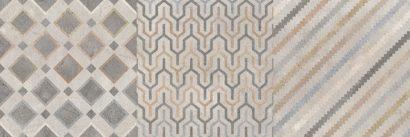 Керамическая плитка Forte multi Декор 02  25х75