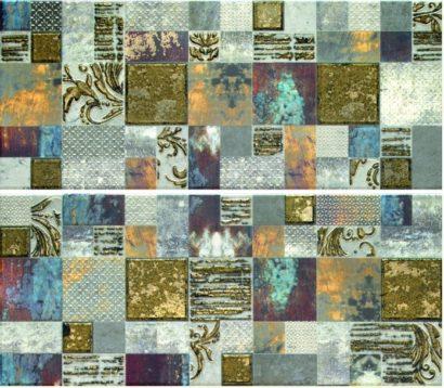 Керамическая плитка Frades Mosaico Gris Панно комплект из 2 плиток 250х600 мм 500х600 мм