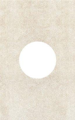 Керамическая плитка Galatia Декор круг d12 25x40