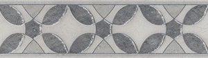 Керамическая плитка Галдиери Бордюр напольный серый лаппатированный ALD A08 SG2210L 60х7