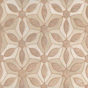 Керамическая плитка Галдиери Декор напольный беж лаппатированный ALD B07 SG2210L 30х60