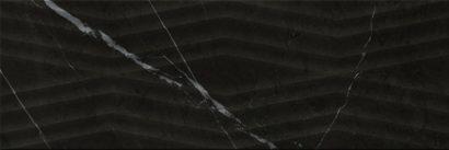 Керамическая плитка Geneva black Плитка настенная 02 25х75