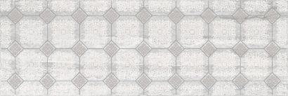 Керамическая плитка Glossy Декор серый 20х60