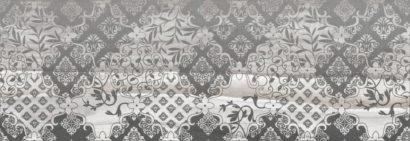 Керамическая плитка Grace Fancy Декор серый 20х60