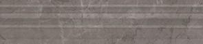 Керамическая плитка Гран Пале Бордюр Багет серый BLE008 5