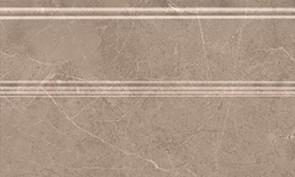 Керамическая плитка Гран Пале Плинтус беж FMB010 15х25