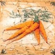 Керамическая плитка Гурман Декор морковь (D-496) 16