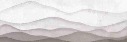 Керамическая плитка Haiku Вставка  горы серый  (HI2U091DT) 25x75