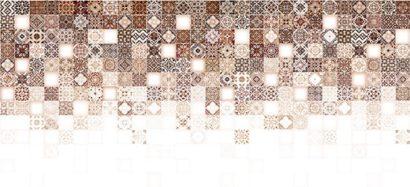Керамическая плитка Hammam облицовочная плитка рельеф бежевый (HAG011D) 20x44