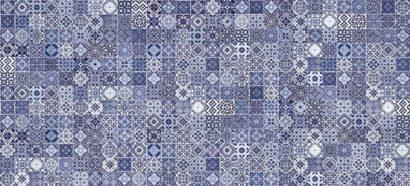 Керамическая плитка Hammam облицовочная плитка рельеф голубой (HAG041D) 20x44