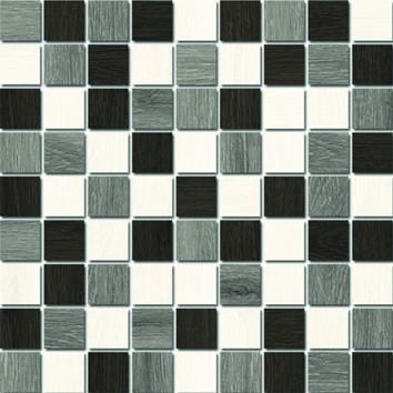 Керамическая плитка Illusion Мозаика декор (A-IL2L451) 30х30