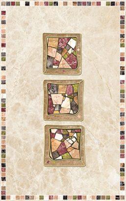 Керамическая плитка Illyria estilo trio Декор 25х40