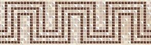 Керамическая плитка Illyria mosaic Бордюр 7