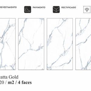Коллекция плитки Itc Calacatta Gold 60X120 Китай