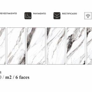 Коллекция плитки Itc Carrara 60X120 Китай
