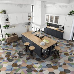 Коллекция плитки Itt Ceramic Art Deco Hexa Испания