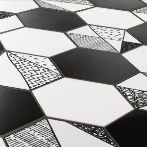 Коллекция плитки Itt Ceramic Comic Hexa Испания