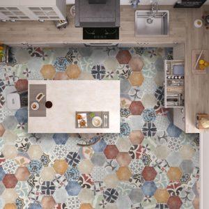 Коллекция плитки Itt Ceramic Marrakech Hexa Испания