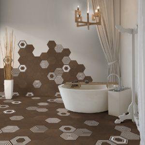 Коллекция плитки Itt Ceramic Pier17 Hexa Испания