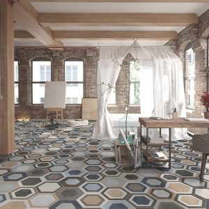 Коллекция плитки Itt Ceramic Tripoli Hexa Испания
