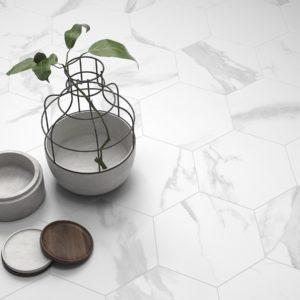 Коллекция плитки Itt Ceramic White Soul Hexa Испания