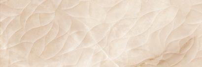 Керамическая плитка Ivory Плитка настенная рельеф бежевый (IVU012D) 25x75