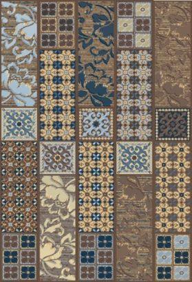 Керамическая плитка Камлот Декор мокка