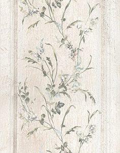 Керамическая плитка Кантри Шик Плитка белый панель декорированнный 7188 20х50