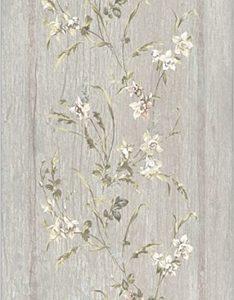 Керамическая плитка Кантри Шик Плитка серый панель декорированнный 7189 20х50