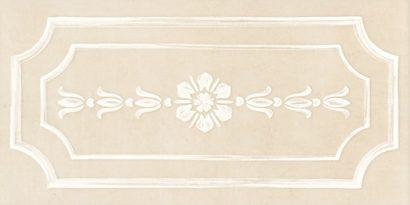 Керамическая плитка Каподимонте Бордюр беж STG B382 11099 30х14