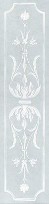 Керамическая плитка Каподимонте Бордюр голубой STG A383 11098 60х14