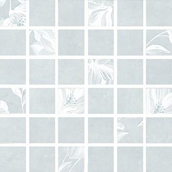 Керамическая плитка Каподимонте Декор мозаичный голубой MM11098N 30х30