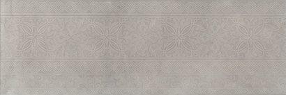Керамическая плитка Каталунья Декор серый обрезной 13088R 3F 30х89