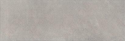 Керамическая плитка Каталунья Декор серый обрезной 13089R 3F 30х89