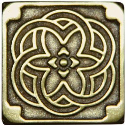 Керамическая плитка Kavarti - Kaleidoscope металлическая плитка 75х75мм  16